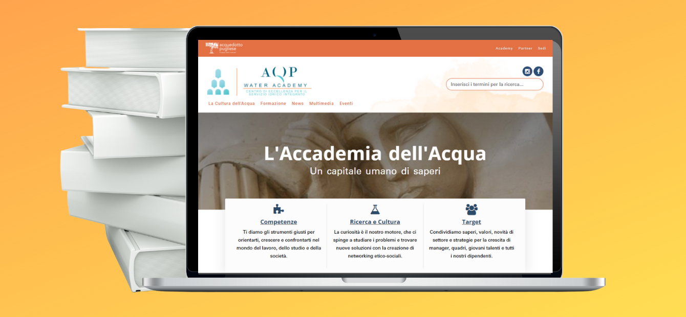 nuovo sito AQP Water Academy